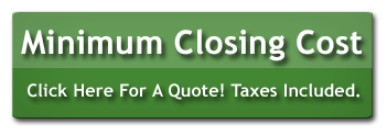 minimum closing cost